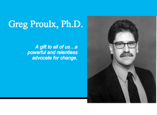Dr Greg Proulx