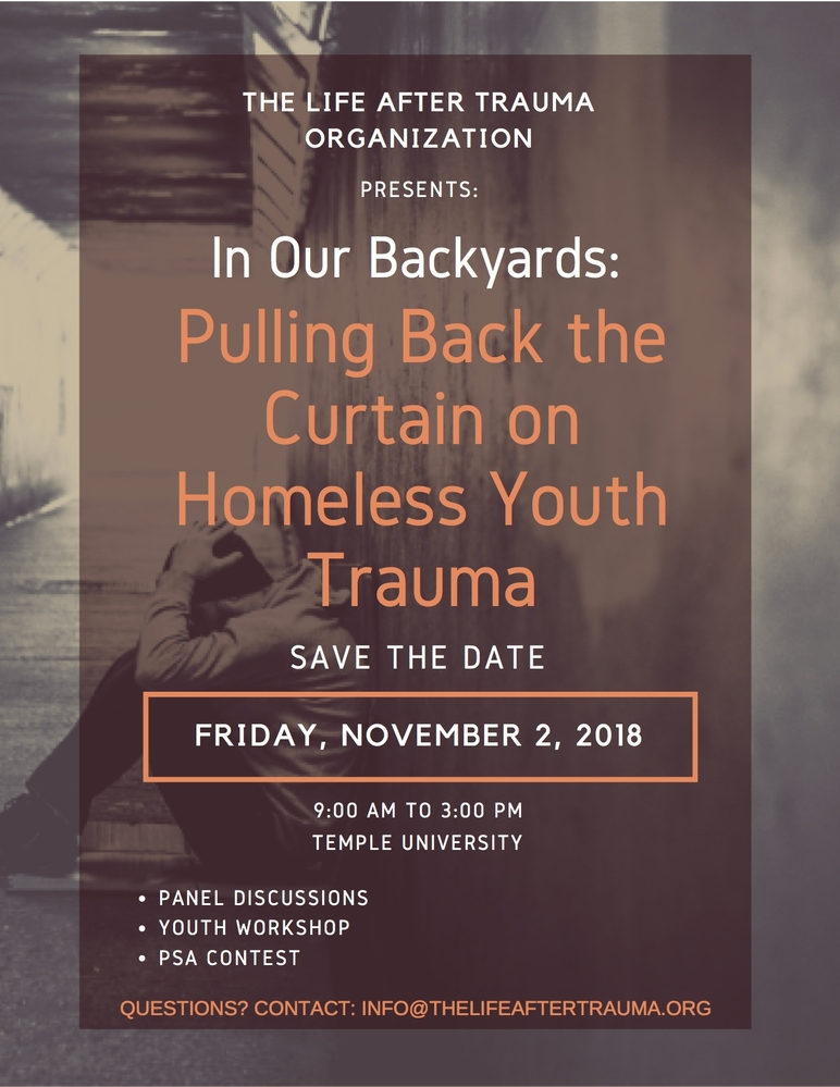 In Our Backyards: Pulling Back the Curtain on Homeless Youth Trauma