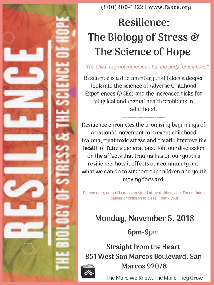 The Science Of Trauma And Its Effects >> Resilience The Biology Of Stress The Science Of Hope San Diego