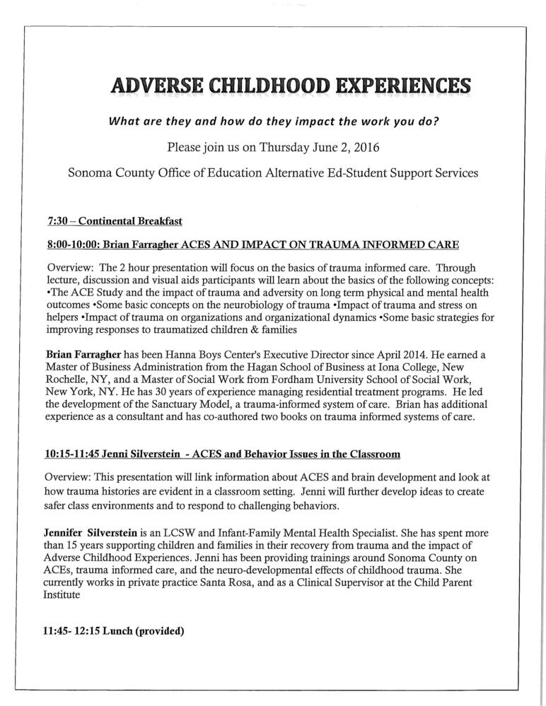 More On Adverse Developmental Impacts >> Adverse Childhood Experiences What Are They And How Do