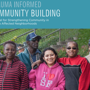 TRAUMA INFORMED COMMUNITY BUILDING A Model for Strengthening Community in Trauma Affected Neighborhoods