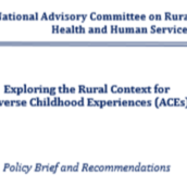 Exploring the Rural Context for ACEs (HHSA Policy Brief - August 2018)