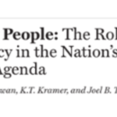 Healthy People: The Role of Law and Policy in Nation's Public Health Agenda (5-page brief)