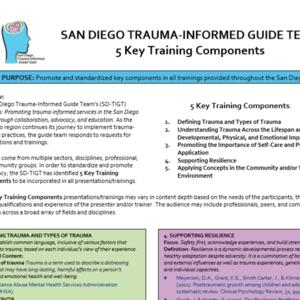 SD-TIGT 5 Key Trauma-Informed Training Components .pdf