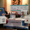 Screenagers Event: Whitney and Rebecca at CRI Resource Table